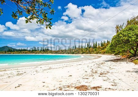 White Sea Beach. Kuto, Sud, New Caledonia