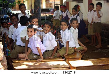 Village School Children