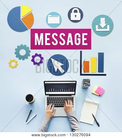 Message Communication Connection Business People Concept