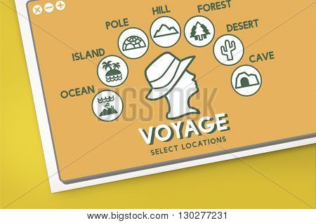 Voyage Adventure Travel Journey Experience Concept