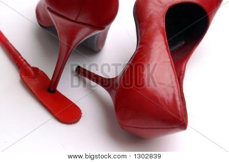 Kinky Red Heels