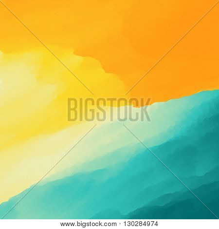 Water Wave. Water Surface. Nature background. Modern pattern. Vector Illustration.