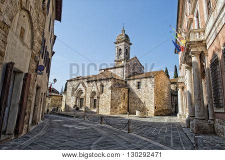 San Quirico Church