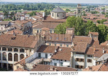 Italian Medieval Village Roof Shingle