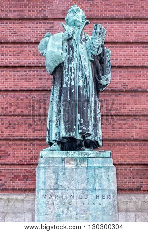 Martin Luther German Theologist Statue