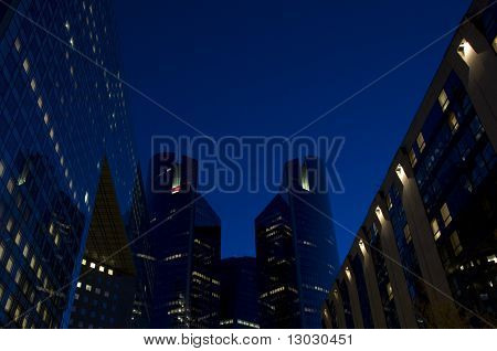 Skyline Of Modern Skyscrapers