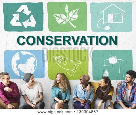 Environmental Conservation Life Preservation Protection Growth Concept