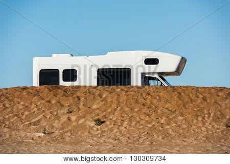 Camper Detail In West Australia