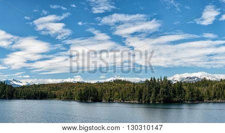Alaska Prince William Sound Panorama