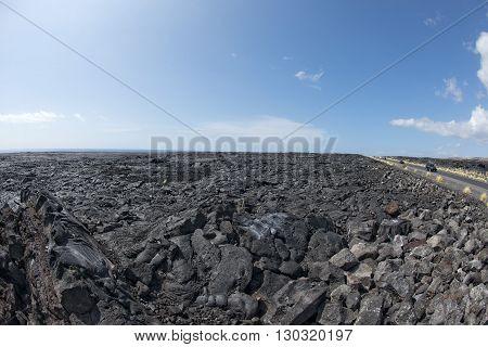 Hawaii Big Island Lava Fields