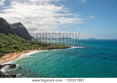 Oahu East Coast Hawaii Island