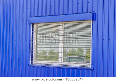 Perforated Aluminum Wall And Window