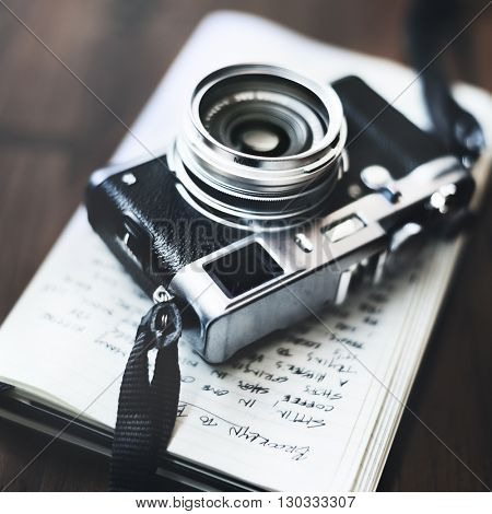 Photo Camera Old Photography Hobby Concept