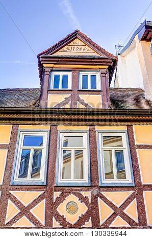 Half-timbered House In Aschaffenburg