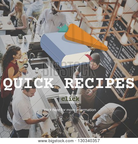 Quick Recipes Menu Cooking Food Concept