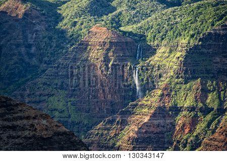 Waimea Canyon In Hawaii