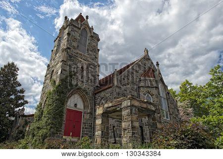 Old Stone Church In Georgetown Dc Washington