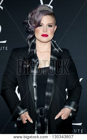 Kelly Osbourne at Zoe Kravitz celebrates her new role with Yves Saint Laurent Beauty held at the Gibson Brands Sunset in West Hollywood, USA on May 18, 2016.