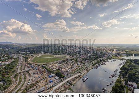View On Belgrade City