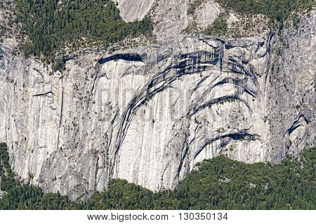 Sunny View Of Yosemite Valley National Park