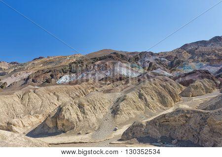 Death Valley Artist Point Natural Art