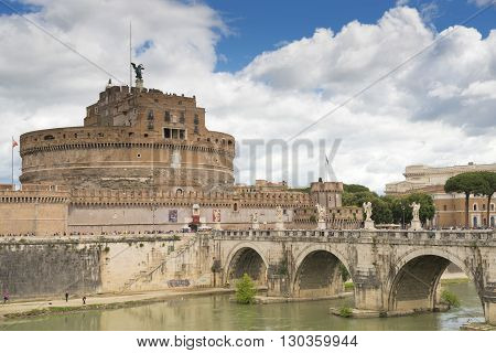 Castle Sant'angelo Summer Home Of Pope Francis In Rome