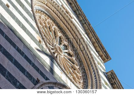Monterosso Cinque Terre Church Detail