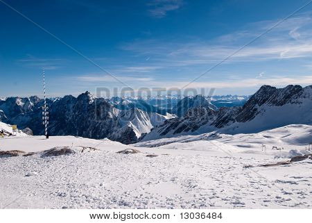 Mountains In The Zugspitze, Germany