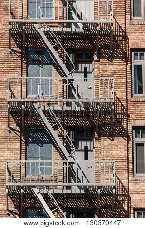 Fire Escape Stairs In Usa