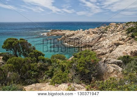 CALA CIPOLLA sardinia crystal water beach landscape