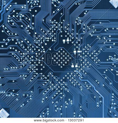 Circuito electrónico de la computadora