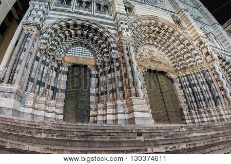 Genoa Italy San Lorenzo Dome