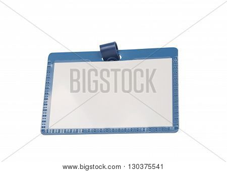 business badge isolated on a white background