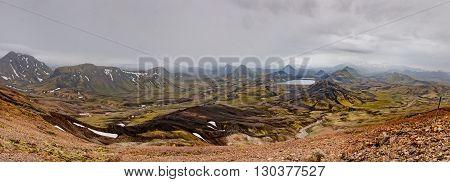 Iceland Landmannalaugar Trek Wild Landscape