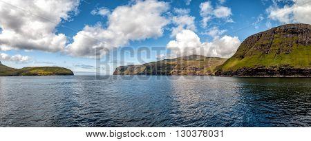 Far Oer Danmark Vestmanna Cliffs