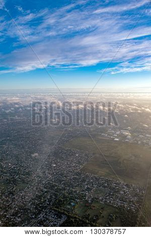 Buenos Aires Aerial View Cityscape