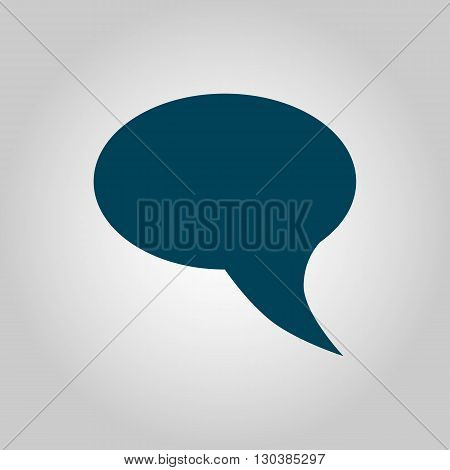 Talk Icon Icon In Vector Format. Premium Quality Talk Icon Symbol. Web Graphic Talk Icon Sign On Gre