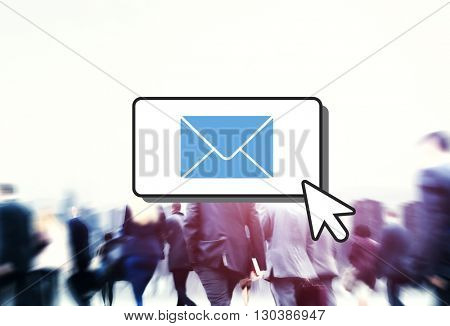 E-mail Connection Communication Correspondence Concept