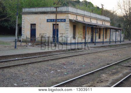 Old Train Station, Argentina