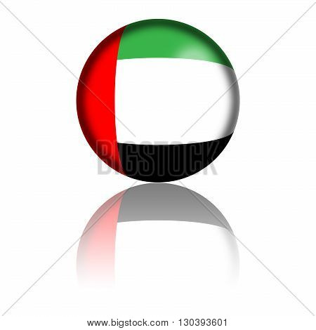 Uae Flag Sphere