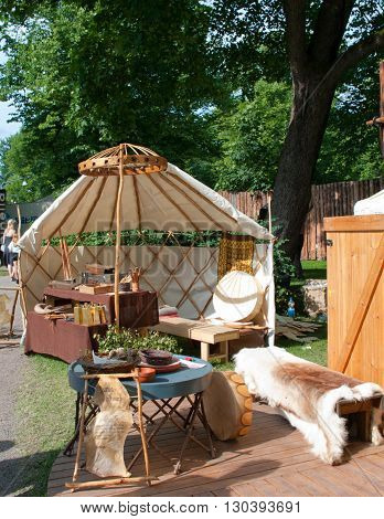 The Medieval Market Of Turku