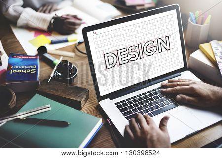 Design Creative Plan Draft Graphic Concept