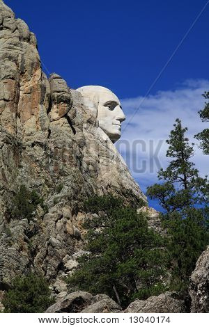 Mt Rushmore - Washington's profile