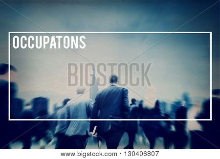 Occupation Careers Job Professional Expertise Concept