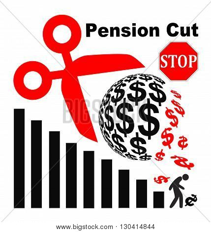 Stop Pension Cuts. Appeal not to lower the retirement benefits for retirees