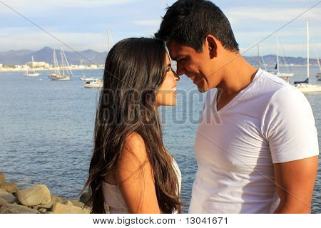 Young Couple Enjoying Each Other