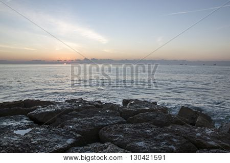 Mediterranean Sea in Castellon, Comunidad Valenciana, Spain