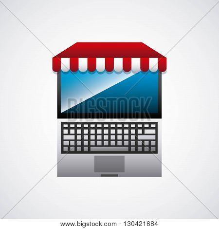 electronic commerce design, vector illustration eps10 graphic