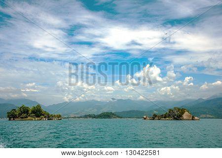 Rio de Janeiro Atlantic coast in Brazil
