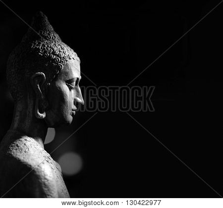 Indian statue. Buddha